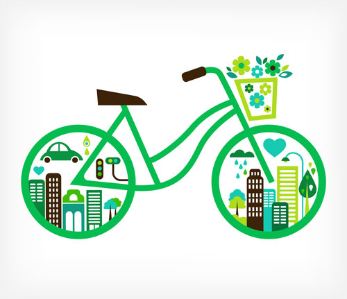 Green-Bicycle