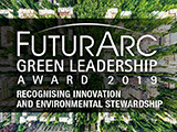 Futurarc Green Leadership Award 2019: Green Built Projects